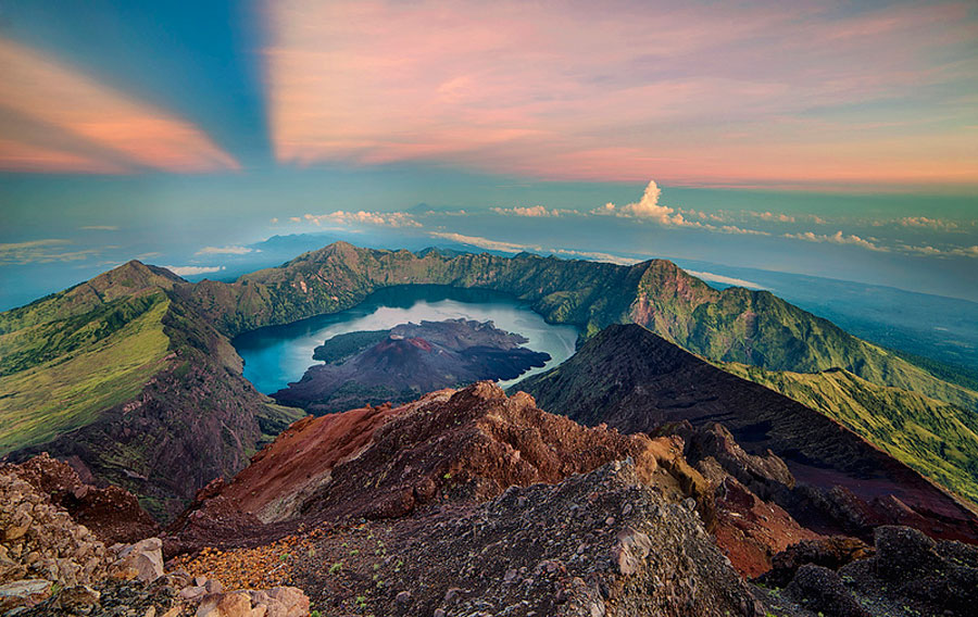 Climbing package to Mount Rinjani