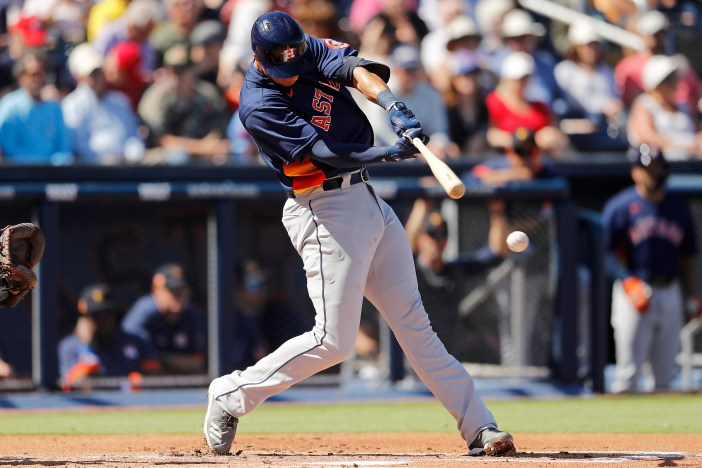Astros send Taylor Jones, three others to minor league camp