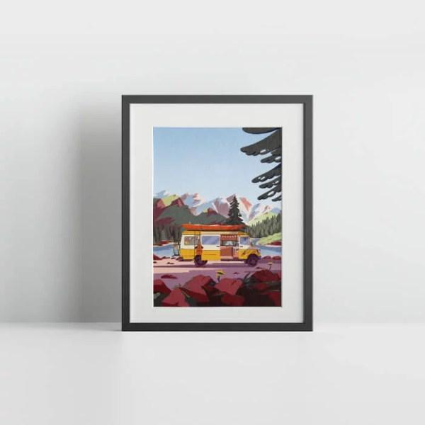 Van life poster