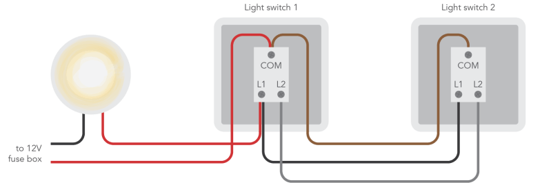 how to wire a 2 way switch wiring diagram two way switch