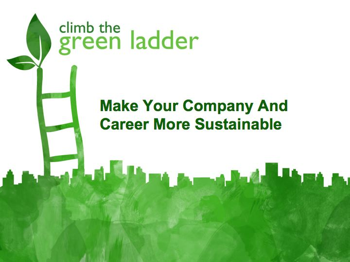 Lunch and Learn with Climb The Green Ladder
