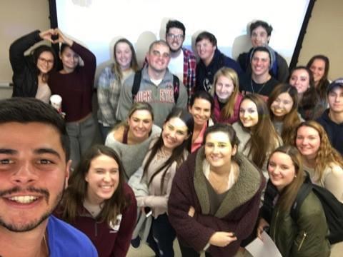 SJU Students in St. Paul