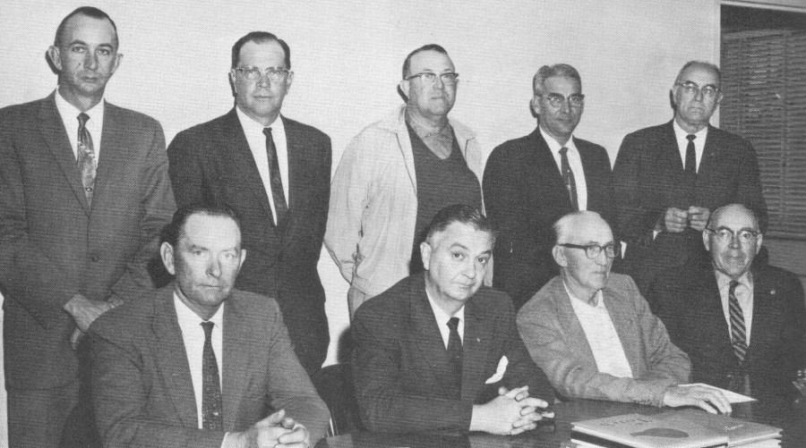 School Board Members 1961-1962