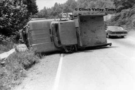 1971 - Aug. 12 (6) Truck Overturned - Dante Road Maybe