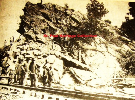 Hanging Rock - around 1908