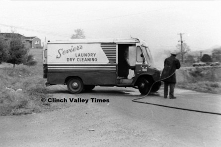 Oct. 15, 1970 (8) Seviers Laundry truck fire near CHS
