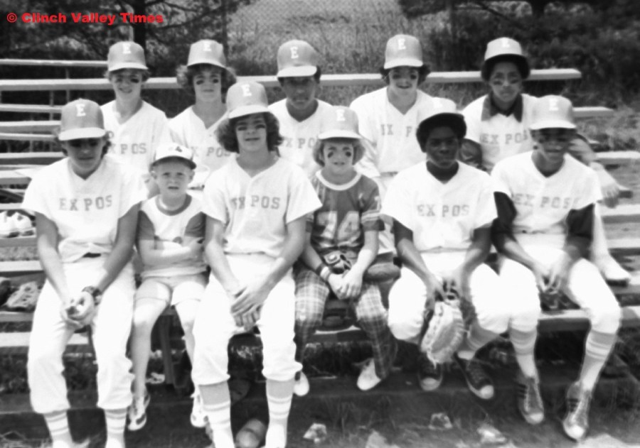 Clinch River Little League Expos 1