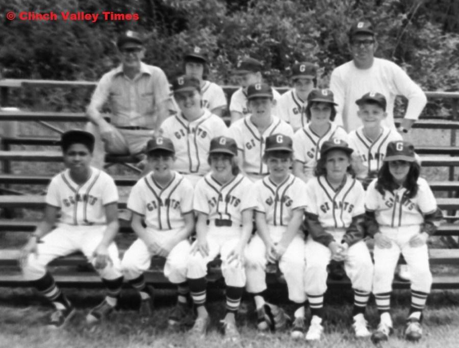 Clinch River Little League Giants 1