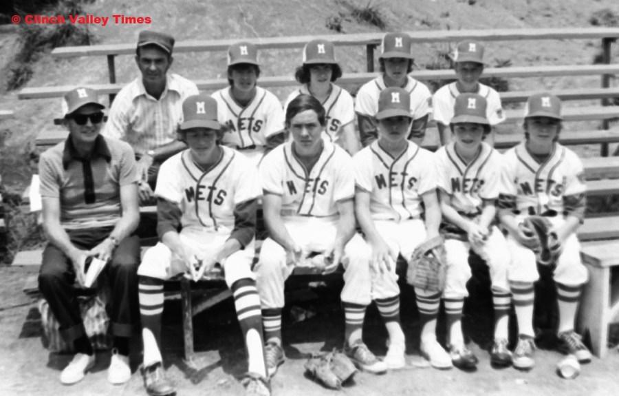Clinch River Little League Mets 1