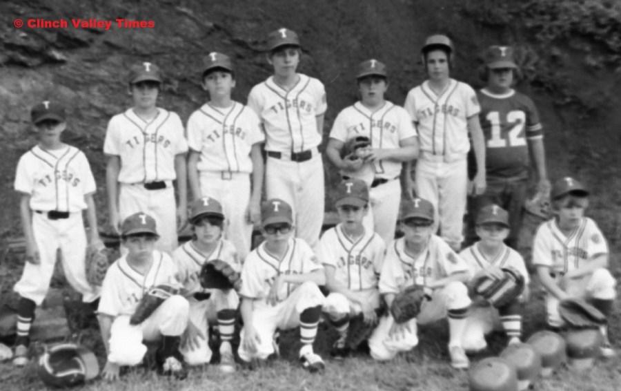 Clinch River Little League Tigers 1