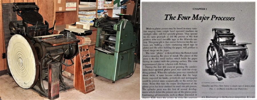 Letterpress and Offset Press