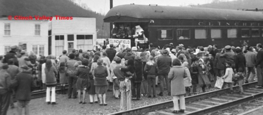Santa Train 1971