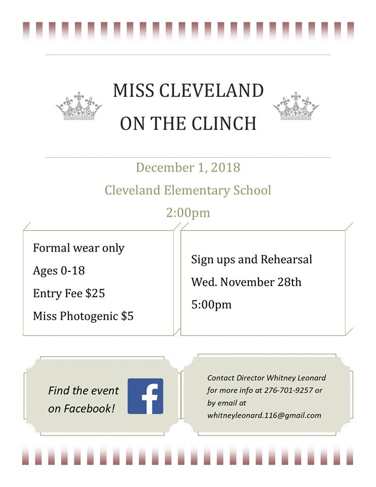 miss cleveland on the clinch