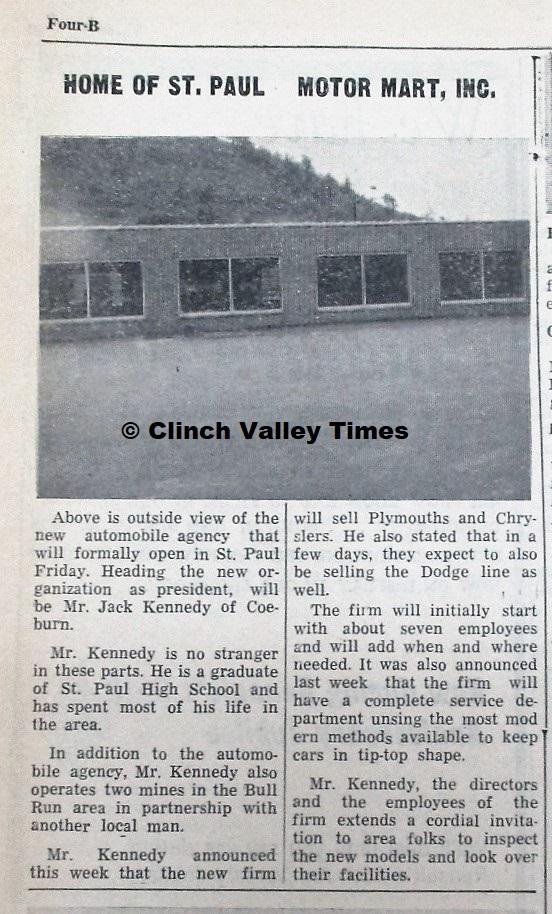 St. Paul Motor Mart opens 1964