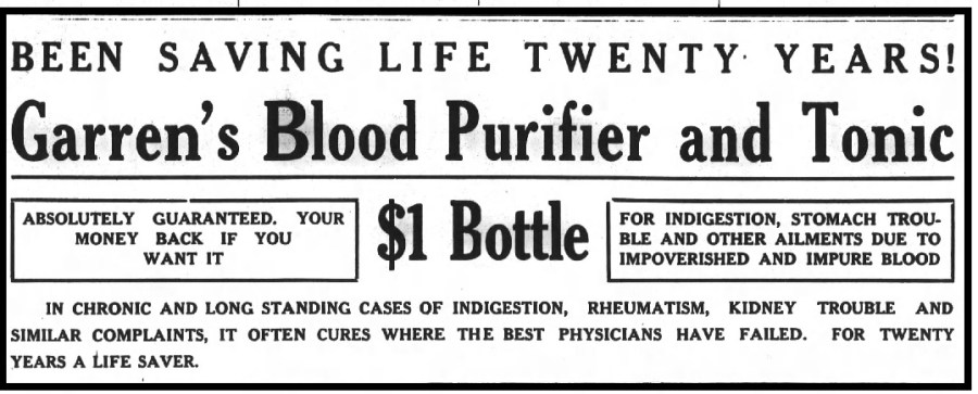 BLOOD PURIFIER AND TONIC