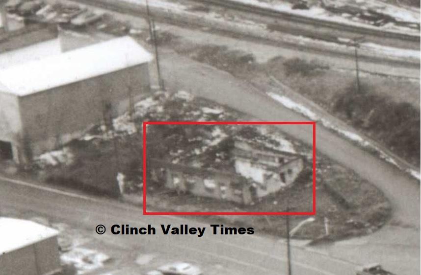 Charlie Dean building ruins