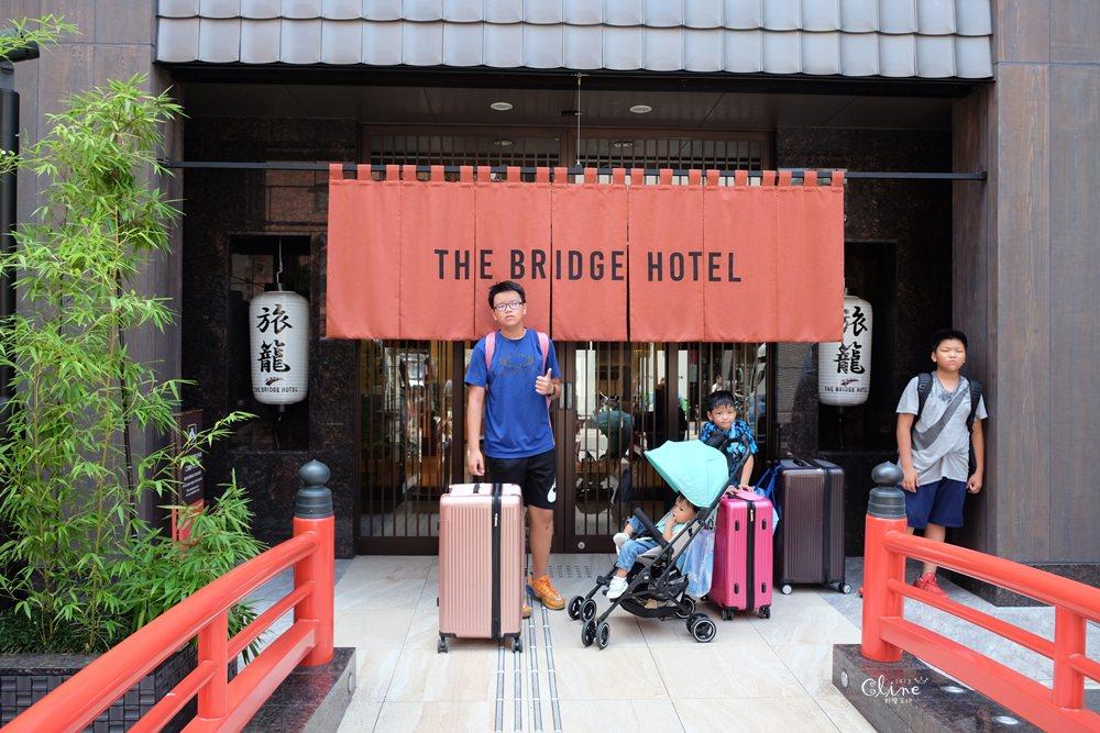▌大阪心齋橋住宿推薦▌THE BRIDGE HOTEL飯店。免費宵夜拉麵、啤酒喝到飽