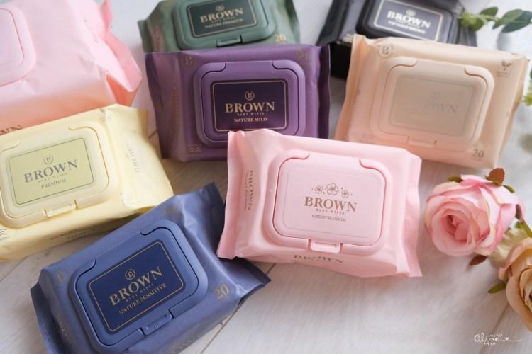▌團購▌ 韓國優秀品牌大獎。超美Brown低敏天然嬰兒濕紙巾+過敏肌的救星Norst山茶花乳霜、乳液、沐浴系列