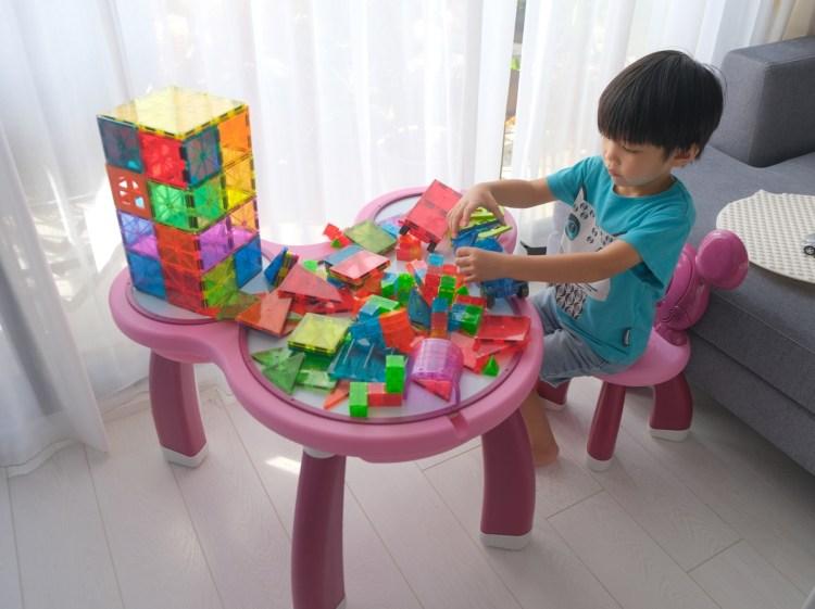 ▎團購▎  澳洲BunnyTickles小沙發+迪士尼多功能遊戲桌(新色)+Magna-Tiles 磁力積木+Little Brian水彩棒
