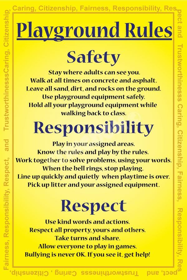 playground rules clingdom