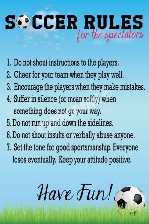 Soccer-Rules