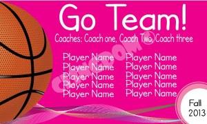 Go-Team-Sport-Basketball-Pink