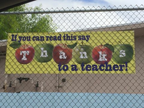 teacher appreciation Lockhurst