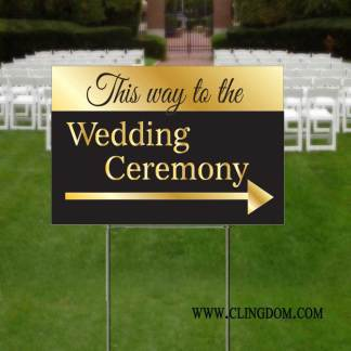Special Event & Party Signs