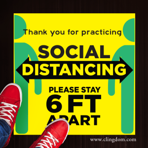 Social Distancing Graphics