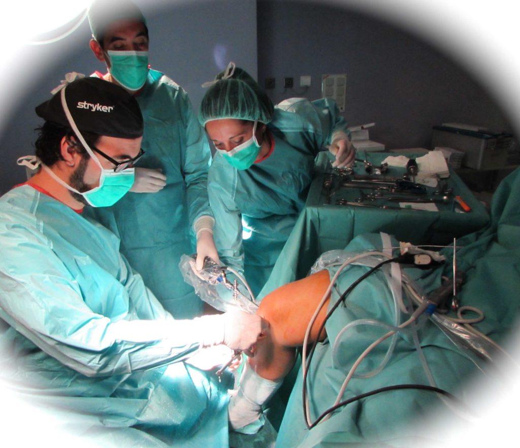 Testimonio de deportista tratado de una rotura de ligamento cruzado anterior