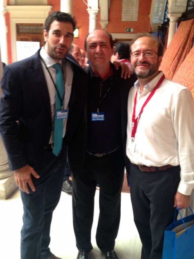 DRS BERNALDEZ,GASTALDI Y RAMOS 18º JORNADA AEMEF SEVILLA MAYO 2014
