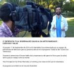 Noticia sobre artes marciales del Dr. Bernáldez en Canal Sur