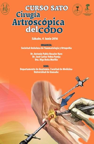 PORTADA Curso Artroscopia de Codo Granada