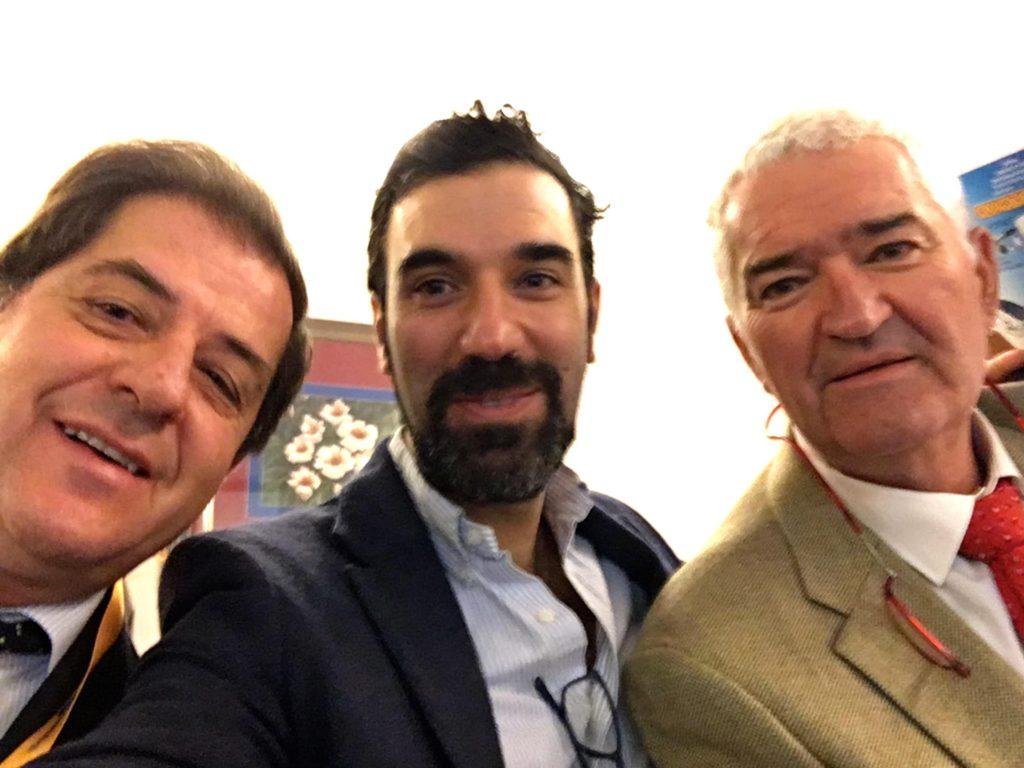 Doctores Fernando Jimenez Diaz, Pedro Bernaldez y Jose Manuel R