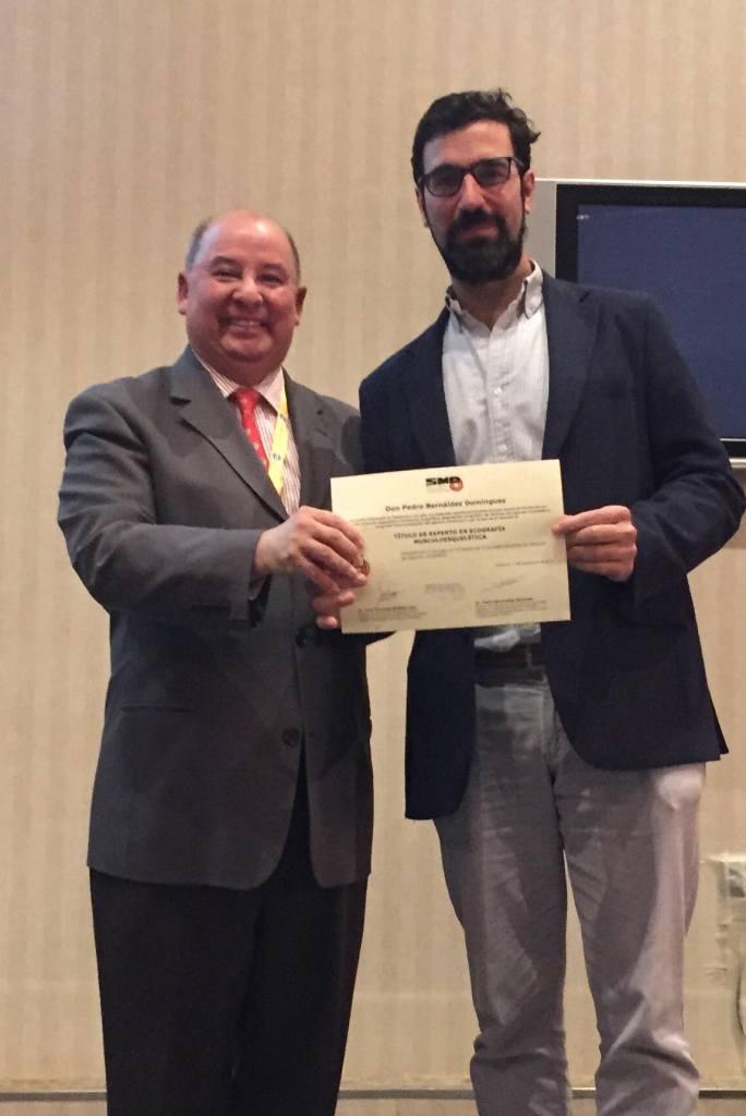 Dr Bernaldez Experto Nacional en Ecografia Musculoesquelética