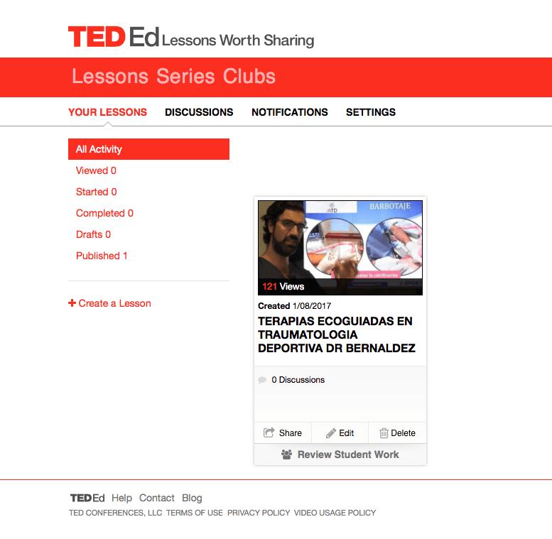 SportMe participa con Lecciones y Conferencias en la plataforma TED