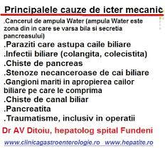 metode pentru detoxifierea icterului obstructiv)