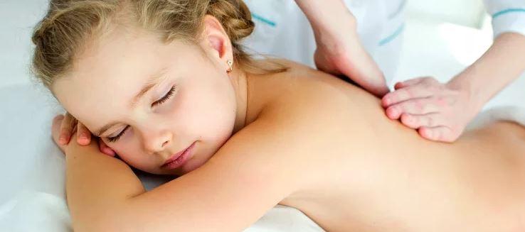 massagem pediatrica