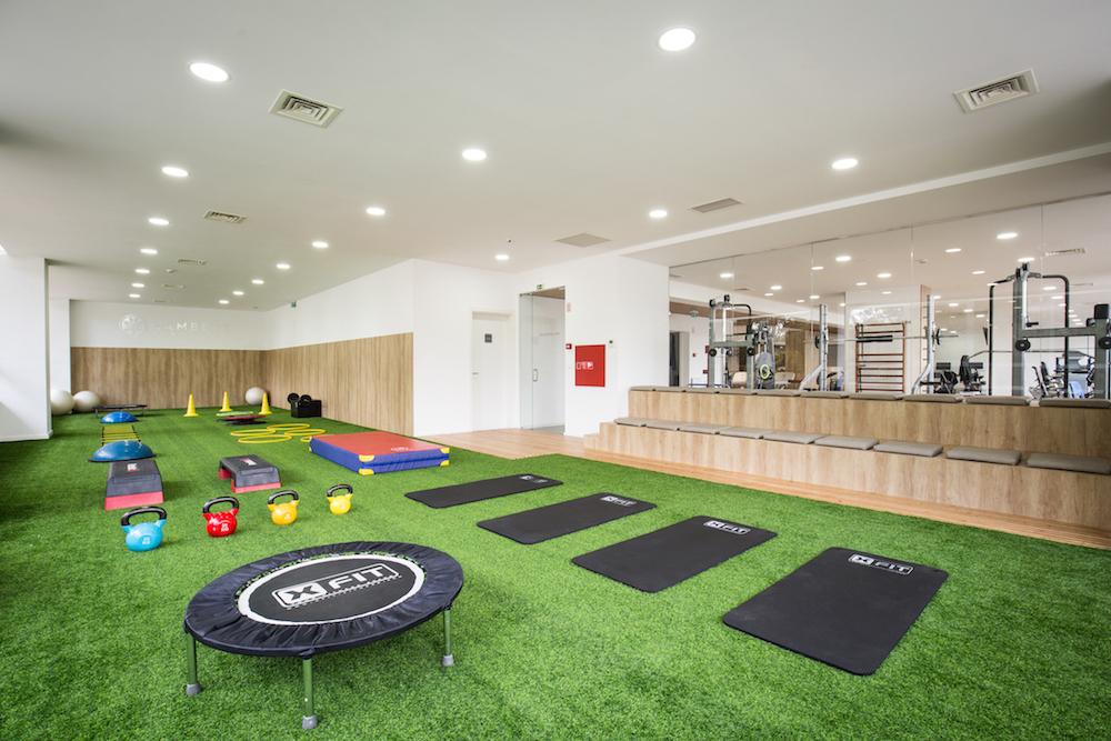 Preparação de um treino de fisioterapia desportiva