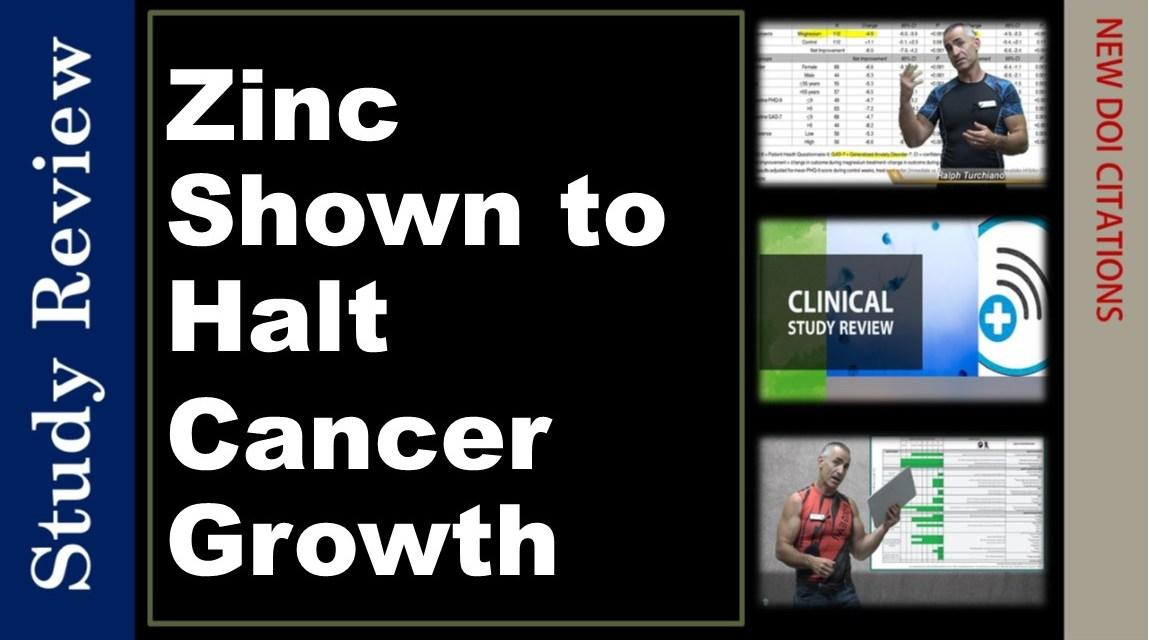Zinc Shown to Halt Cancer Growth