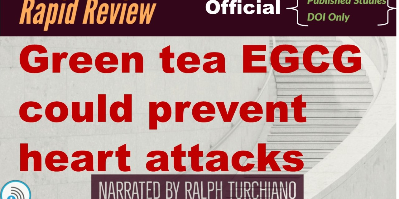 Green tea molecule could prevent heart attacks