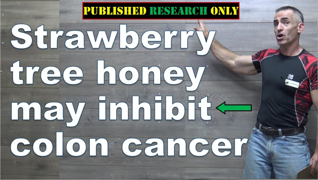 Strawberry tree honey may inhibit colon cancer