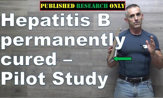 Hepatitis B virus cured – Pilot Study