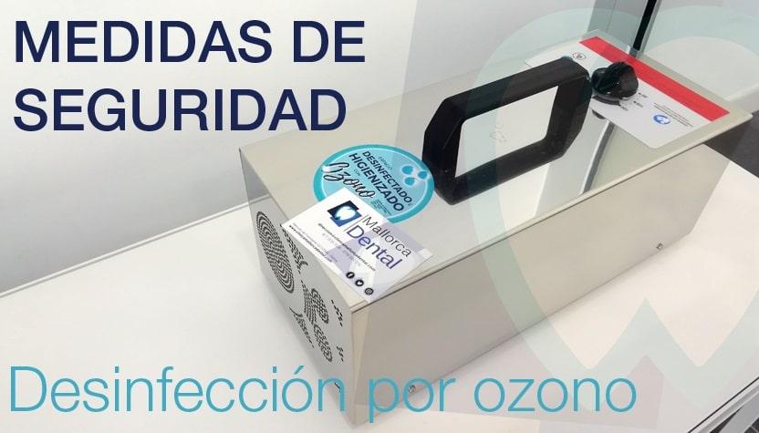 Medidas de seguridad - Desinfección por ozono