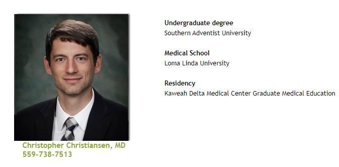 Dr. Christiansen