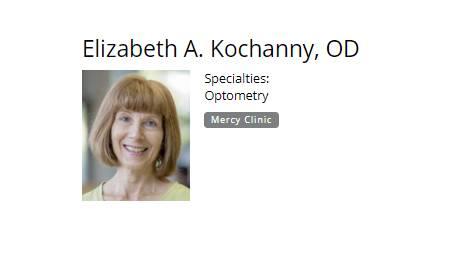 Elizabeth A. Kochanny, OD