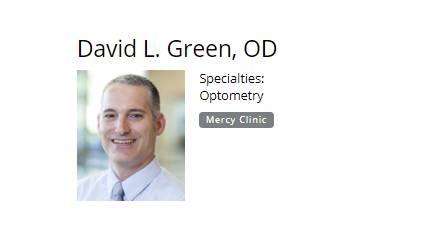 David L. Green. OD