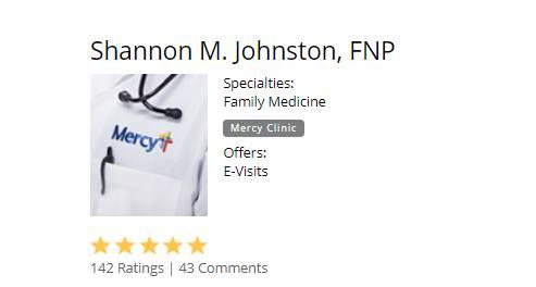 Shannon M. Johnston, FNP