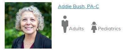 Addie Bush, PA-C