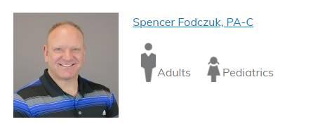 Spencer Fodczuk, PA-C